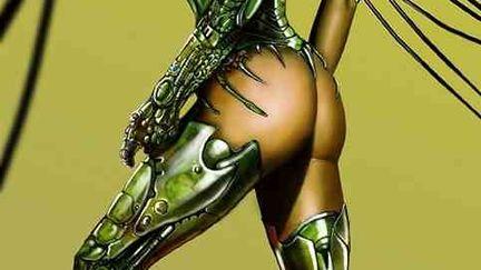 Dredd X (nudity)