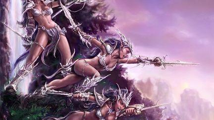 Fury Of The Nightblades - Dark Elves