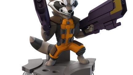 Rocket Raccoon - Disney Infinity 2.0 Toy Sculpt