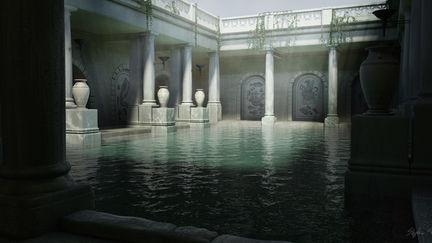 CGI Roman Bath