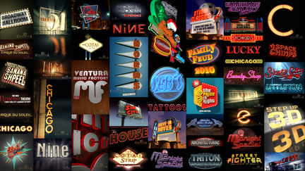 3D Enviormental Graphics: Neon, Chasing Bulbs, Marquees, Signage