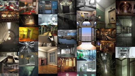 3D Interior Design Rendering Compilation Part 1