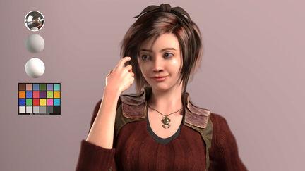 Leah from Diablo 3 Fanart