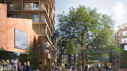Marge Architects - Galten Neighborhood, Lund, SWE