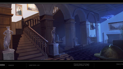 X-Men: First Class X-Mansion Interior