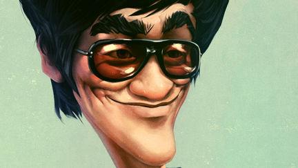 Bruce Lee - Caricature