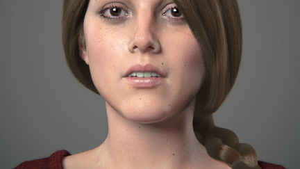 Girl Portrait (Modo 601 Beta Testing Work, 2011)