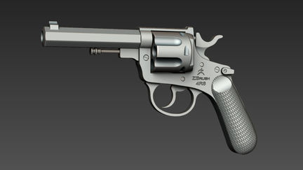 Live Boolean Revolver ( Freely Downloadable Model)