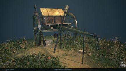 Civil-War: Limber Ammunition Chest