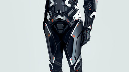 Eve  - Combat Suit - Concept Art
