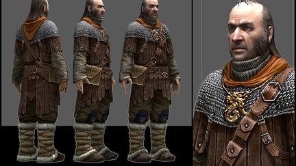"""Predelnik"" main character from ""THE TIME FOR DRAGONS HASN`T COME YET"" game"
