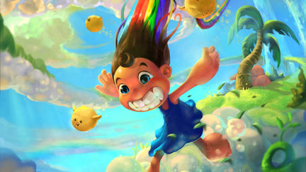 Running Rainbow