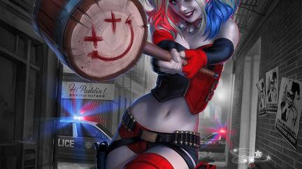 Harley Quinn #1 Rebirth variant