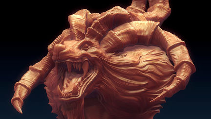 Ifrit_zbrush