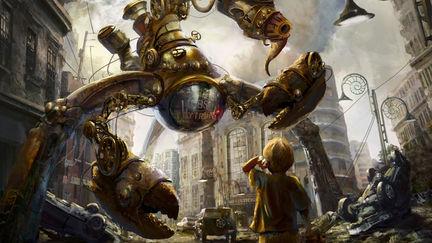 Steampunk Goliath