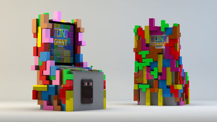Arcade Game Machines 'Tetris'