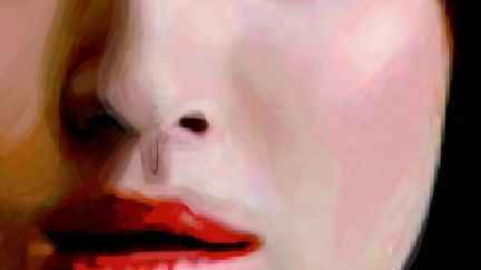 Face Iphone paint