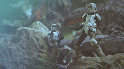 stormtroopy's in the forest
