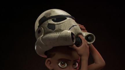 Boy Stormtrooper