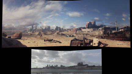 a world without us - matte painting