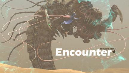 Encounter. 3D animation