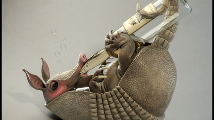 Tequila Tatu - an Armadillo's Alcohol Addiction