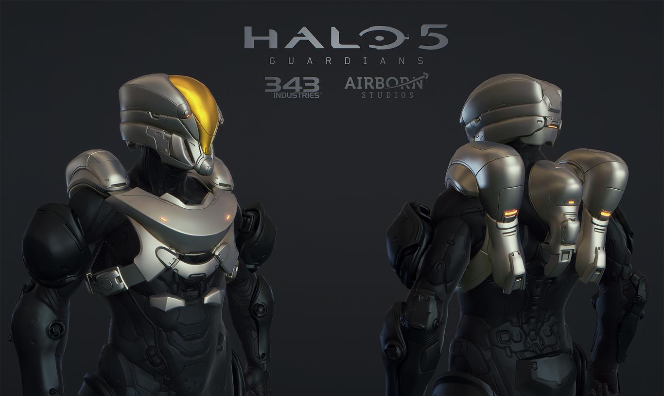 Halo 5 Multiplayer Suit Venture by AirbornStudios | Sci-Fi | 3D