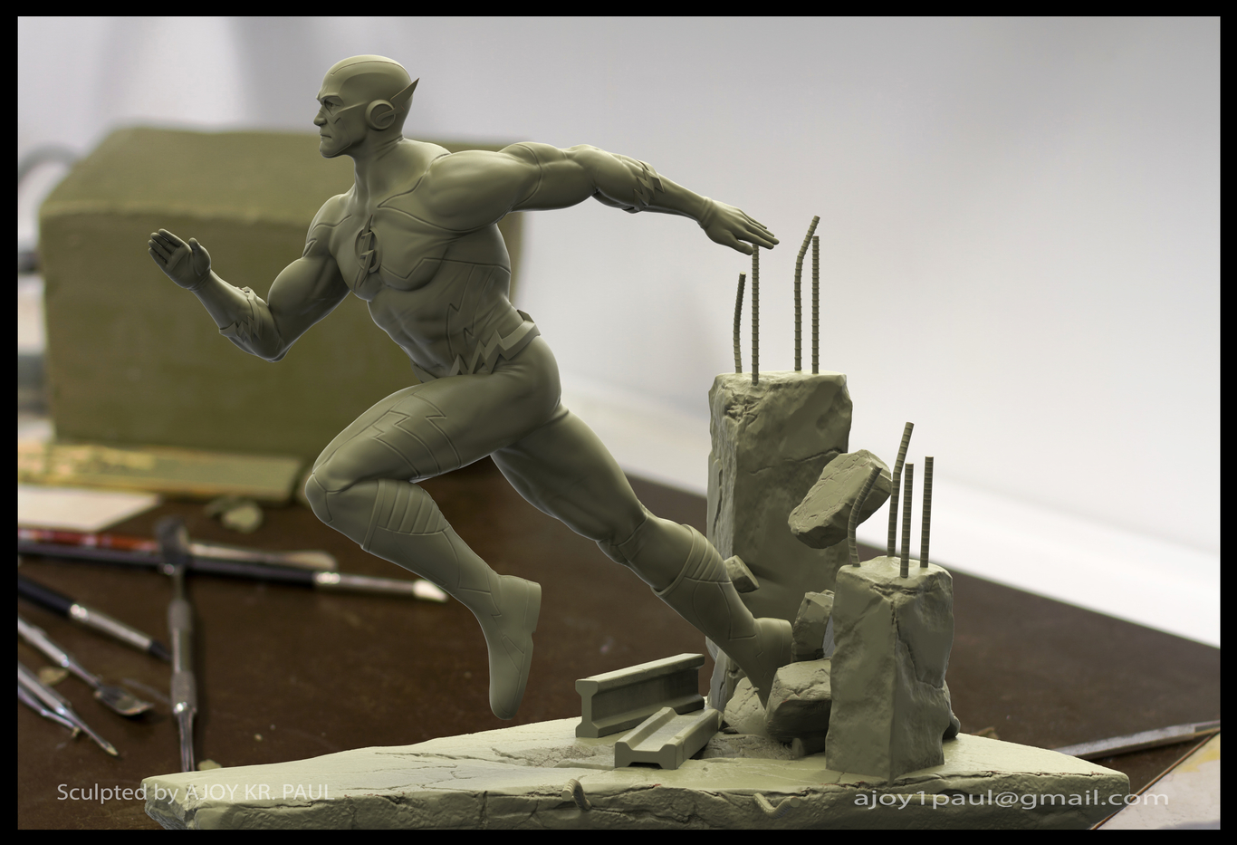 Ajoykrpaul flash statue sculpt 1 935e9028 1wv1