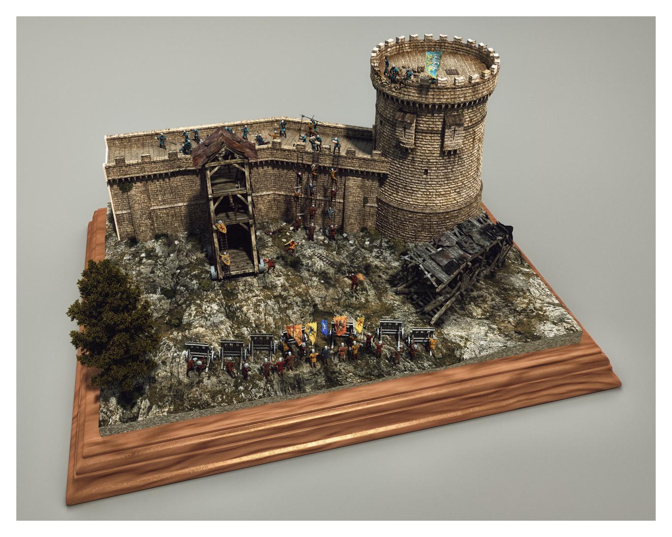Aumakua medieval siege diora 1 a83f7ddf svrj