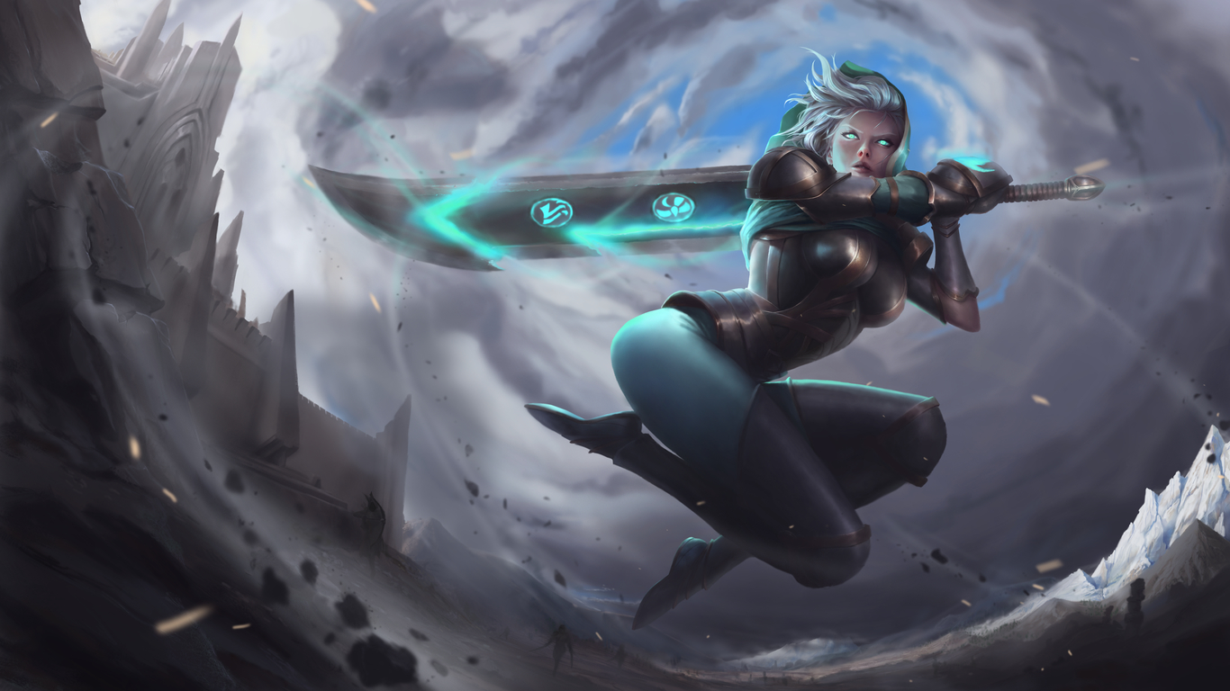 Redeemed Riven by Awels | Illustration | 2D | CGSociety