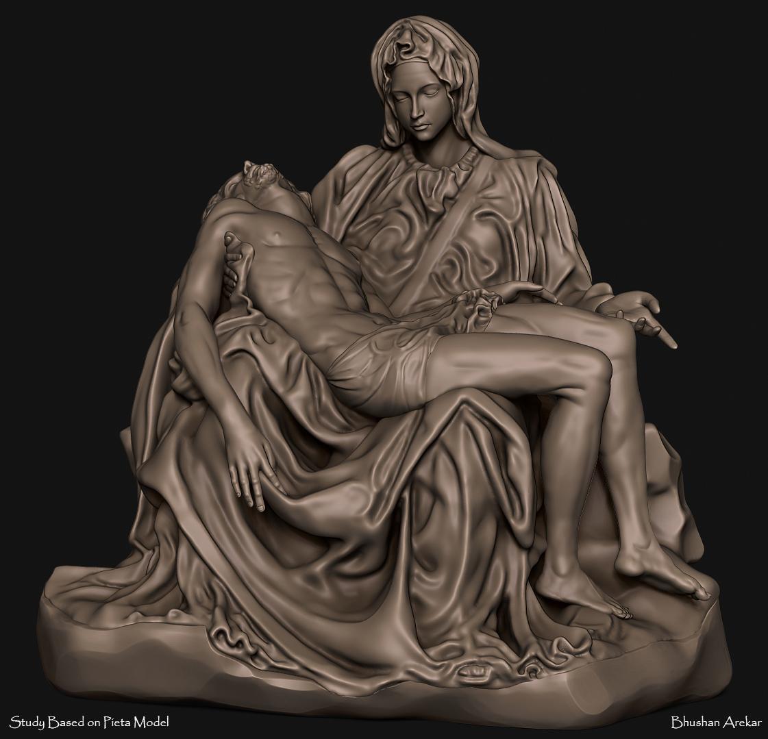 Pieta_Study by BhushanArekar   3D   CGSociety