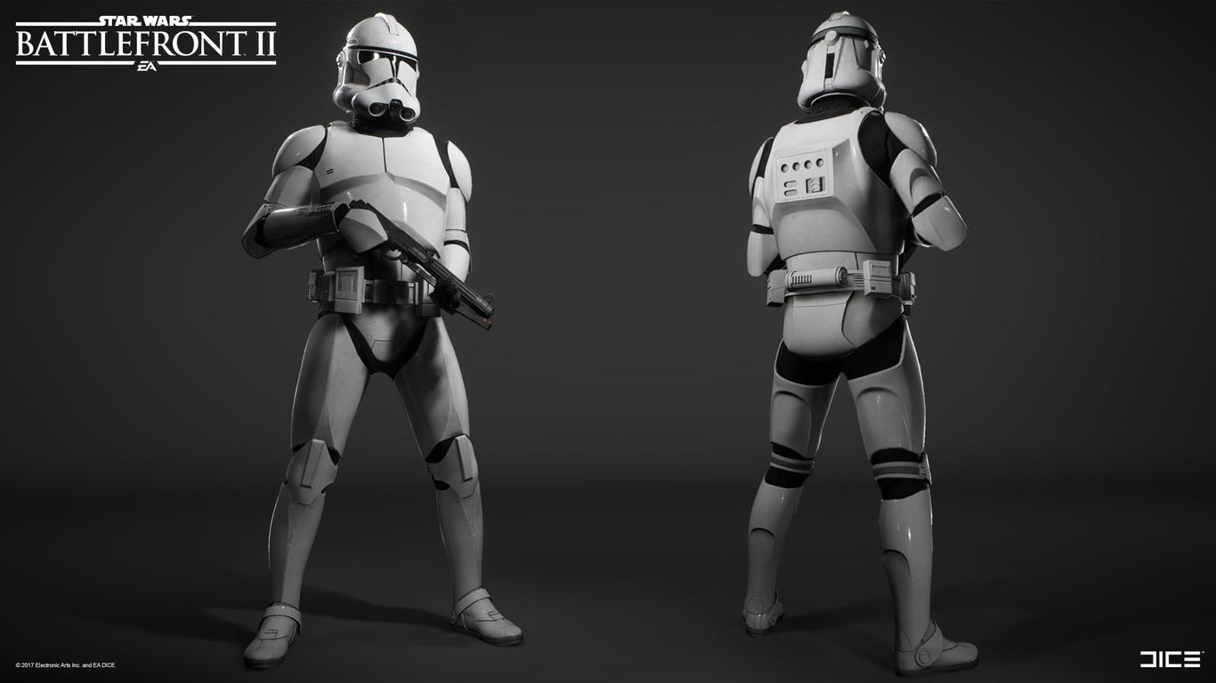 Star Wars Battlefront 2 Clone Trooper 2019