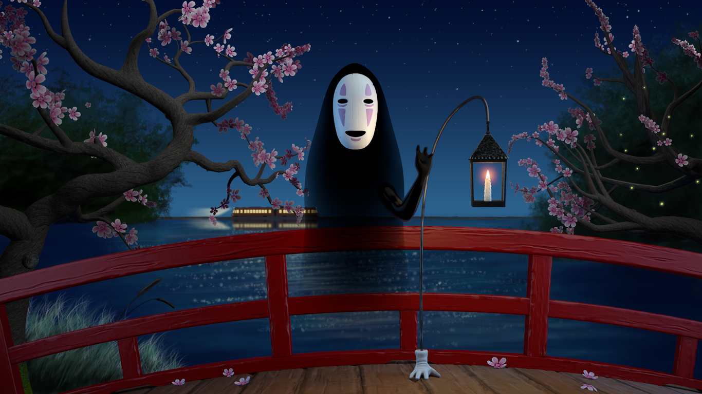 Spirited Away Noface Wallpaper By Honey Bee 7e Free On Zedge