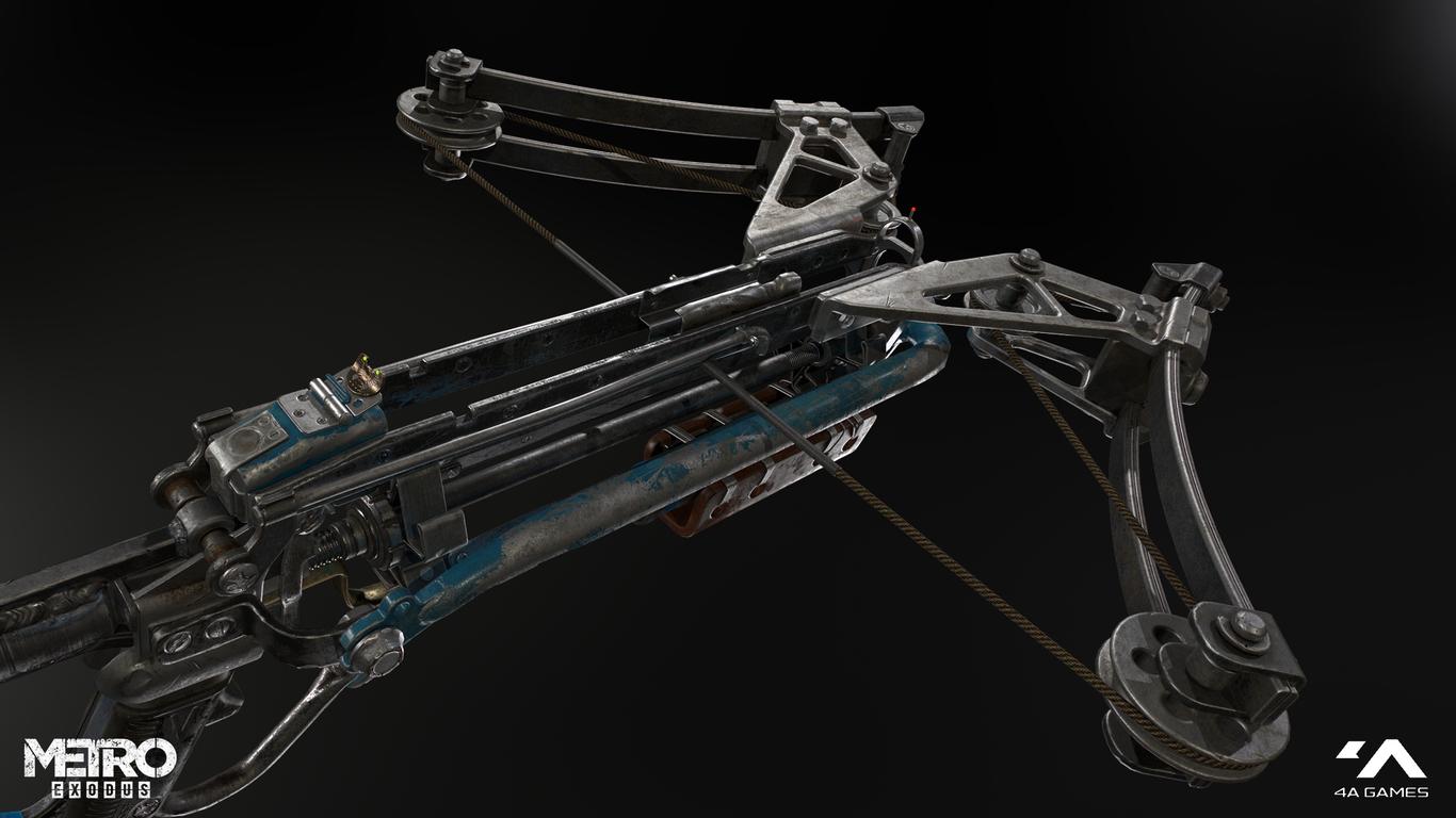 Weapon Metro Exodus Concept Art