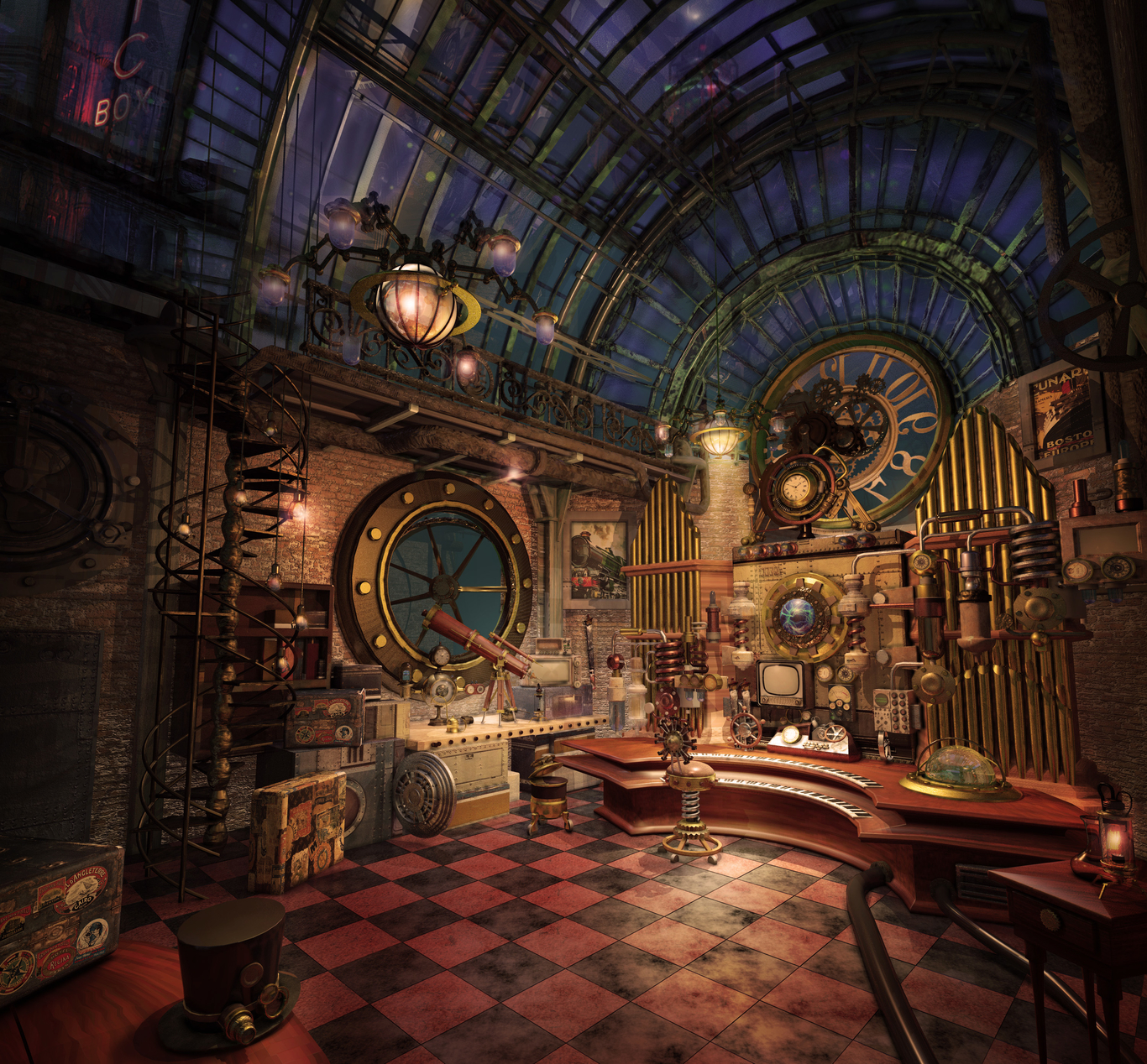 Take a journey back in time with these 50 examples of steampunk home décor From accessories to steampunk furniture theres something for every space
