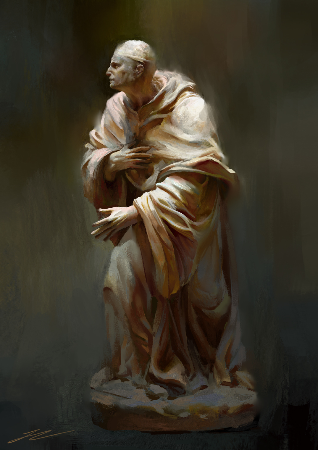 The statue of practice