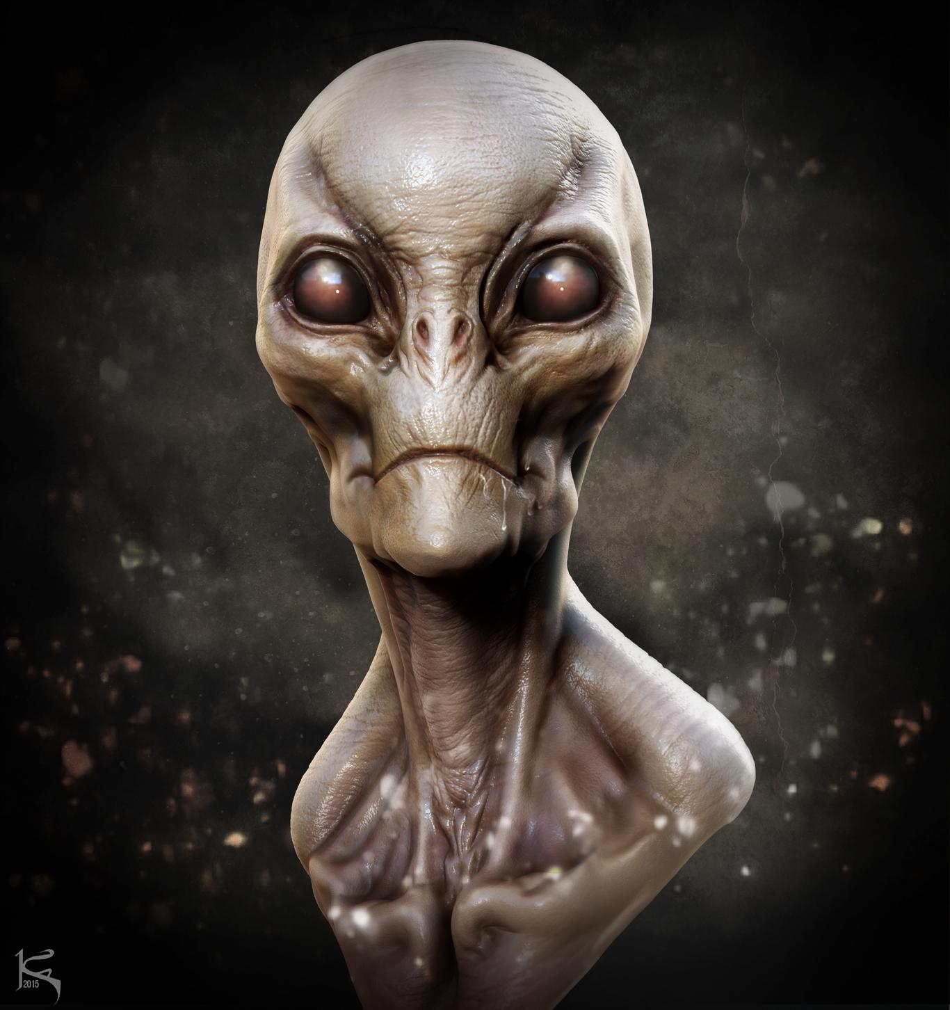 Aris Kolokontes Fan Art #2 - Alien Creature Design Doodle