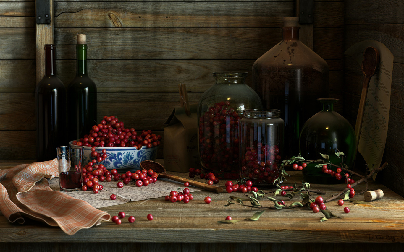 Lixiaodong cherry red wine 1 e2996cec 7jvv
