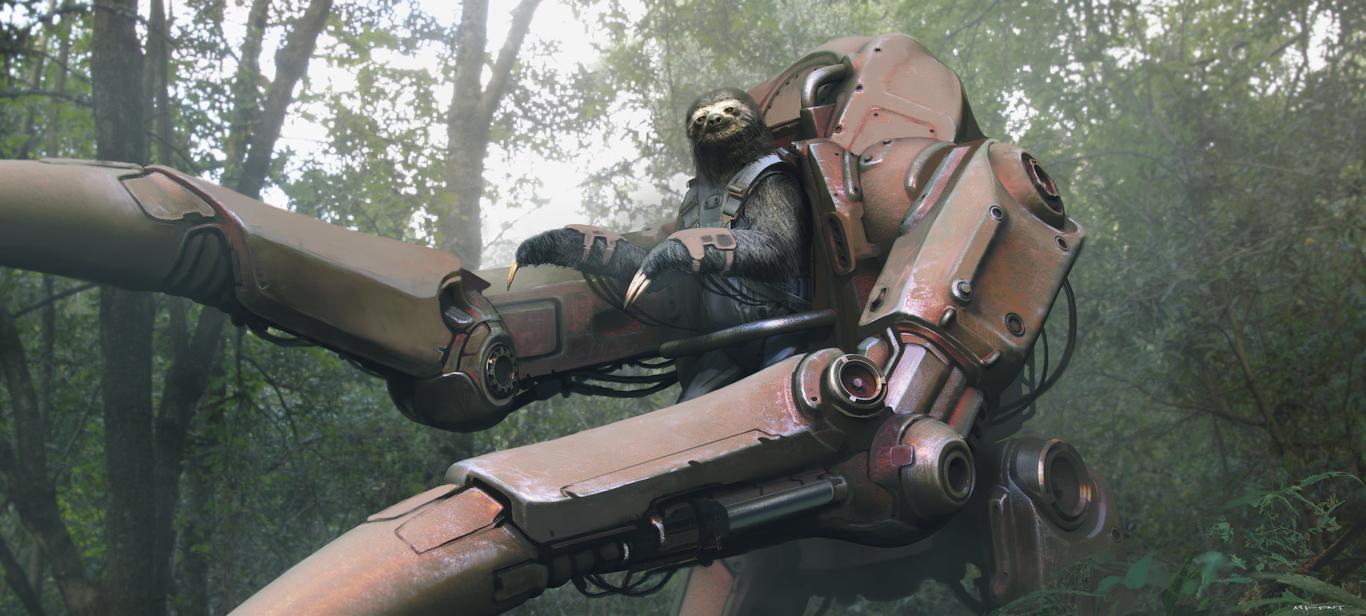 Markkent mechanized sloth 1 28c3d913 tvno