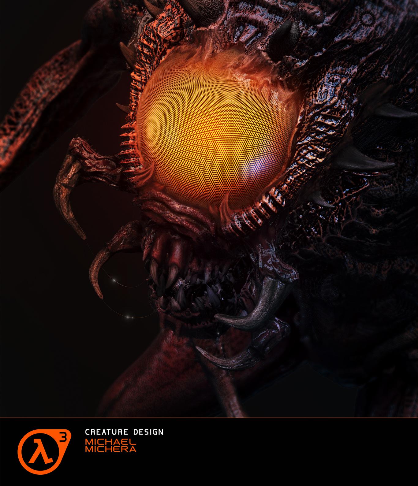 Half Life 3 - Vortigaunts' Beast (eye II)