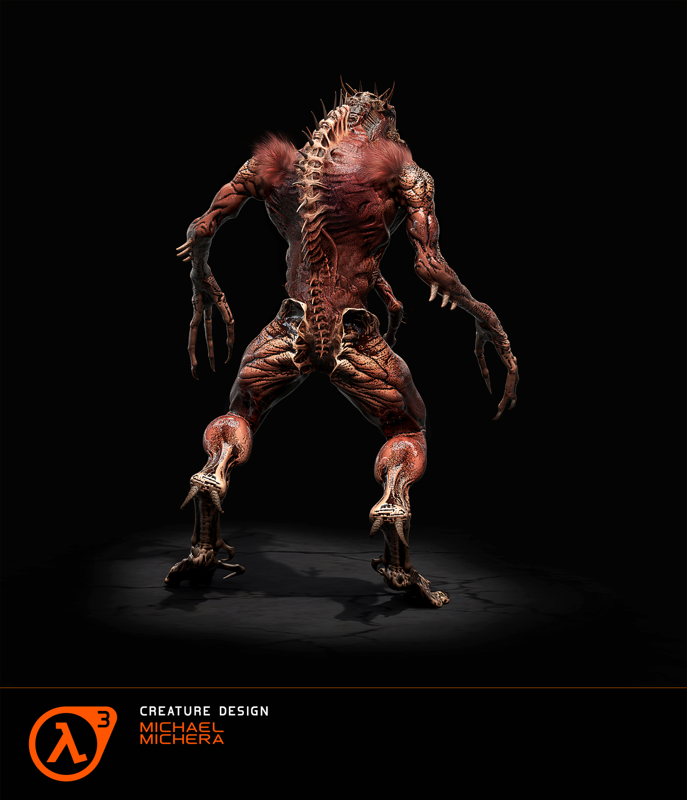 Half Life 3 - Vortigaunts' Beast (back)