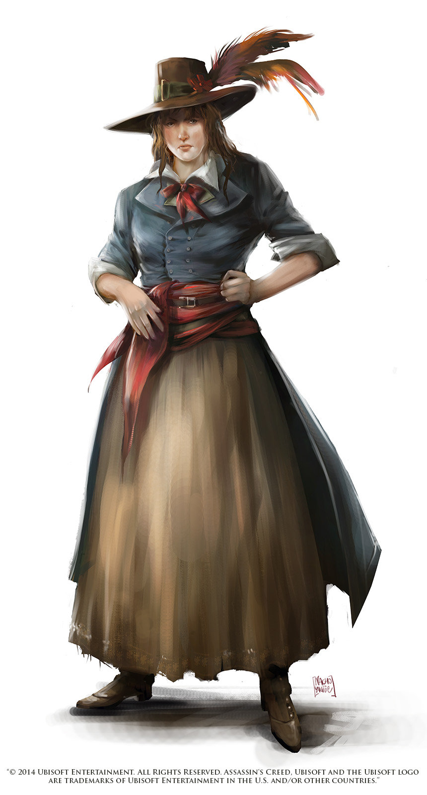 Assassins Creed Unity Theroigne De Mericourt Character Design By