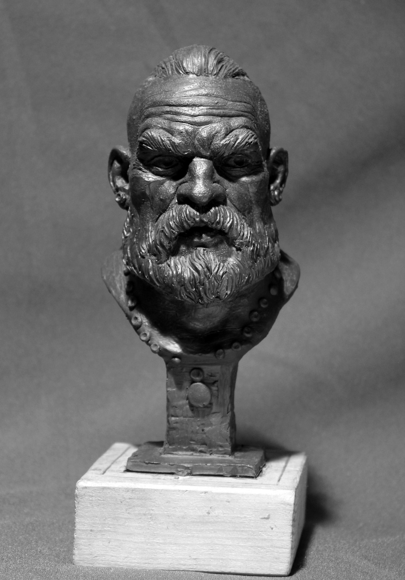 Head of warrior