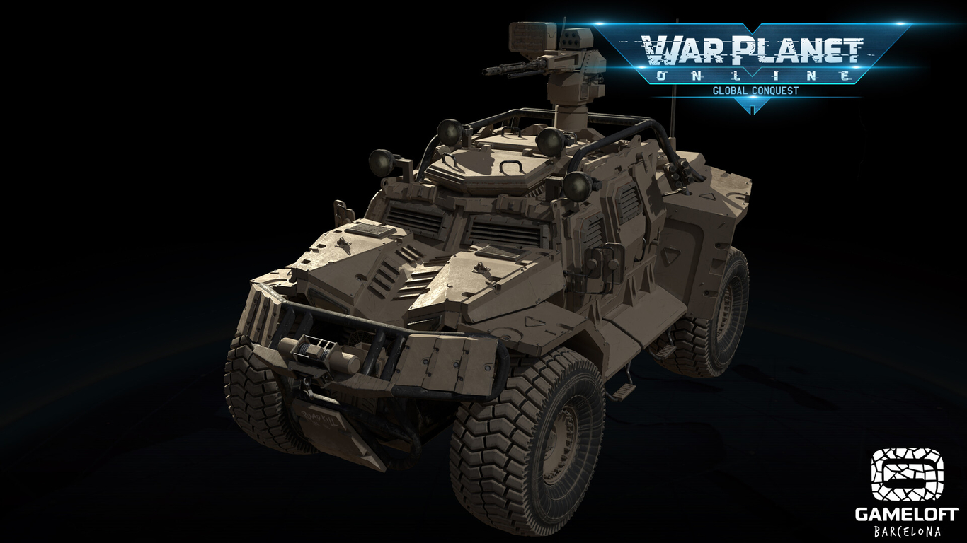 War Planet Online Road Kill - Vehicles: Buggy by Nazedo