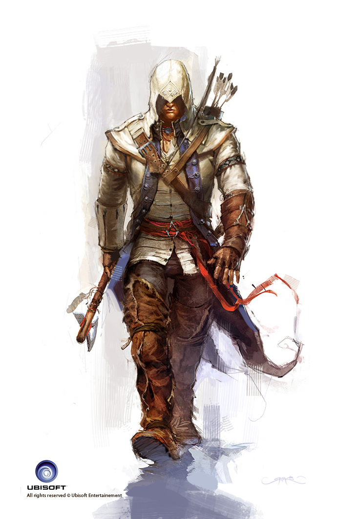 Assassin S Creed 3 Connor Outfit Concept By Okmer Design 2d