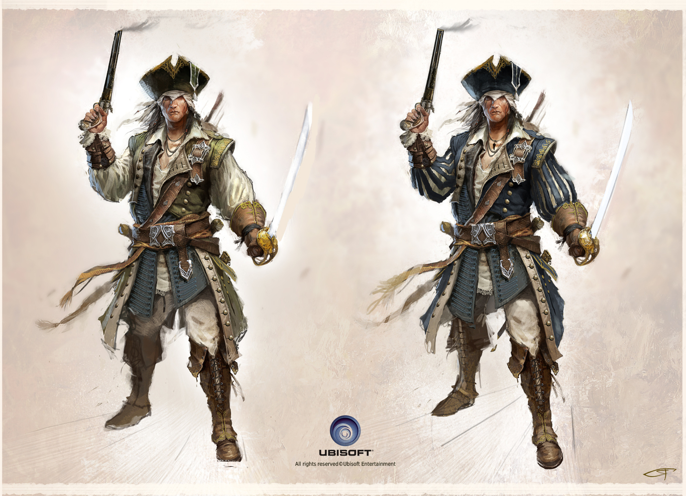 Assassin S Creed 3 Connor S Captain Kidd Outfit Concept By Okmer