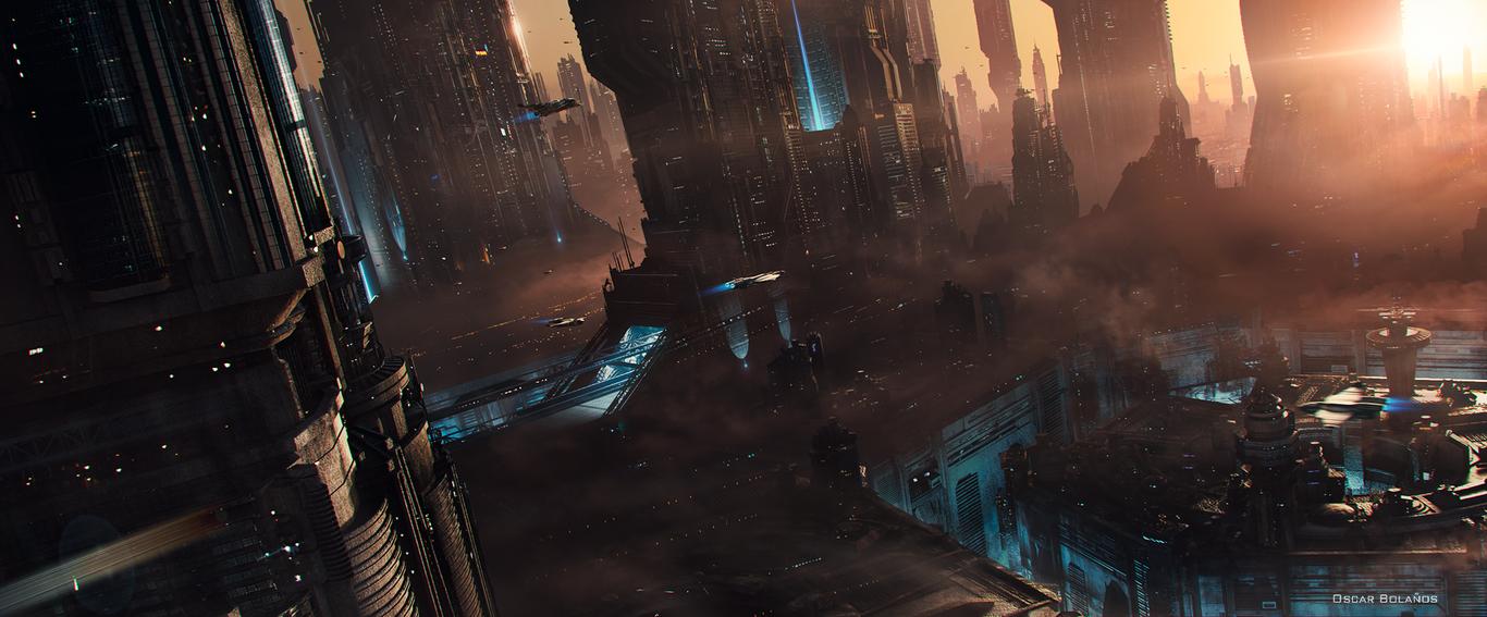 22+ Sci Fi City Concept Art  Pics