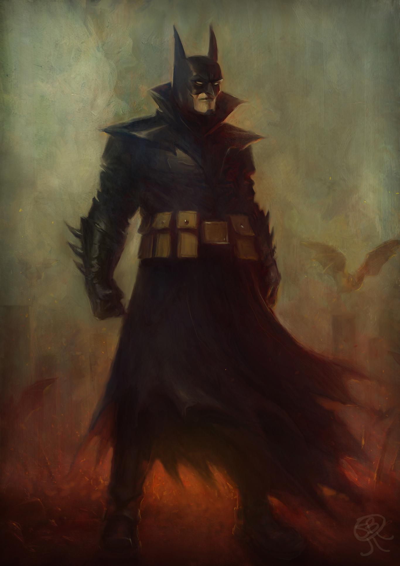 Papaninja batman number 666 fa 1 bb1e760c hy3i