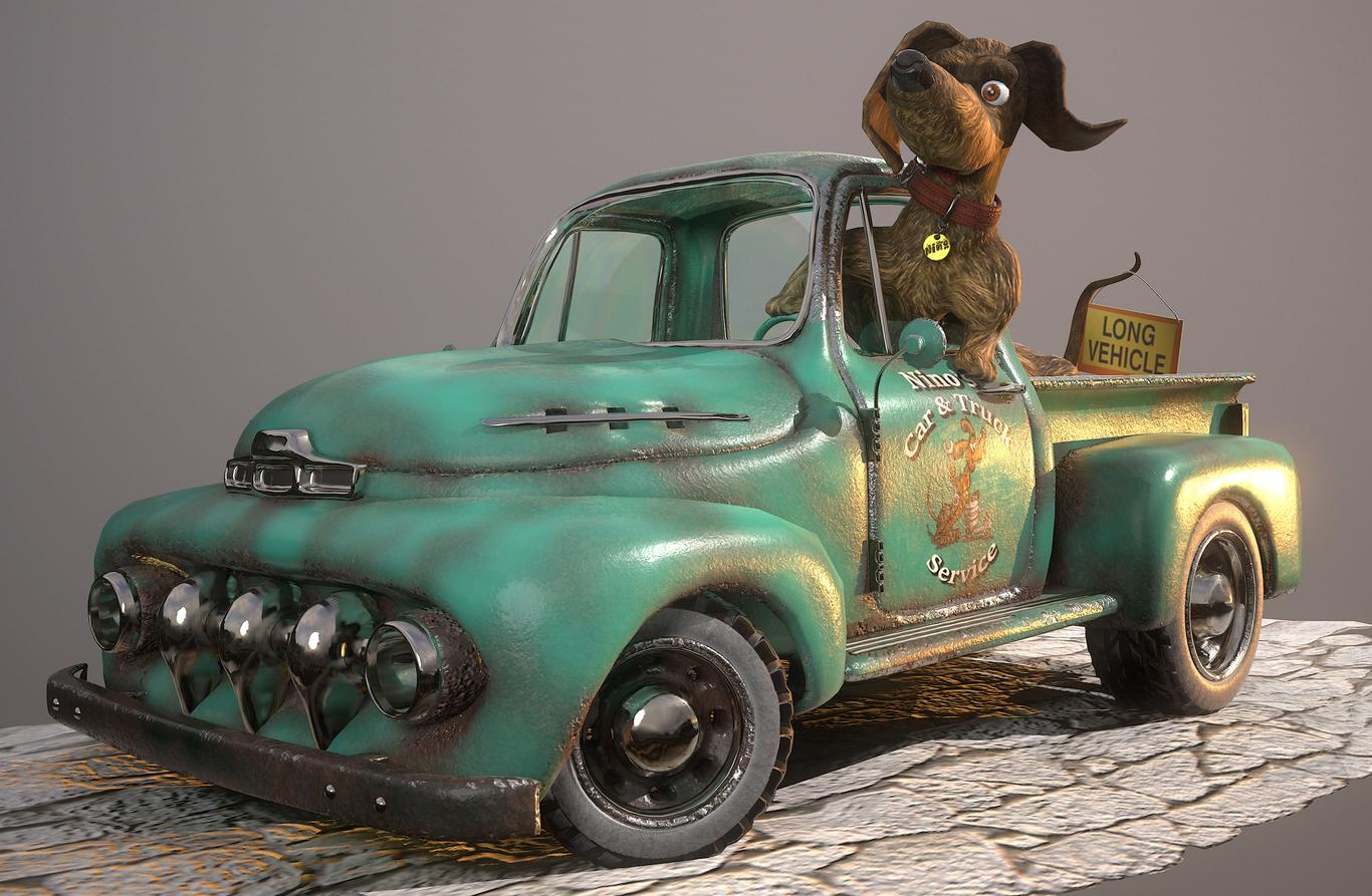 Rabaman71 teckel truck car rep 1 0f3891d1 d9l2
