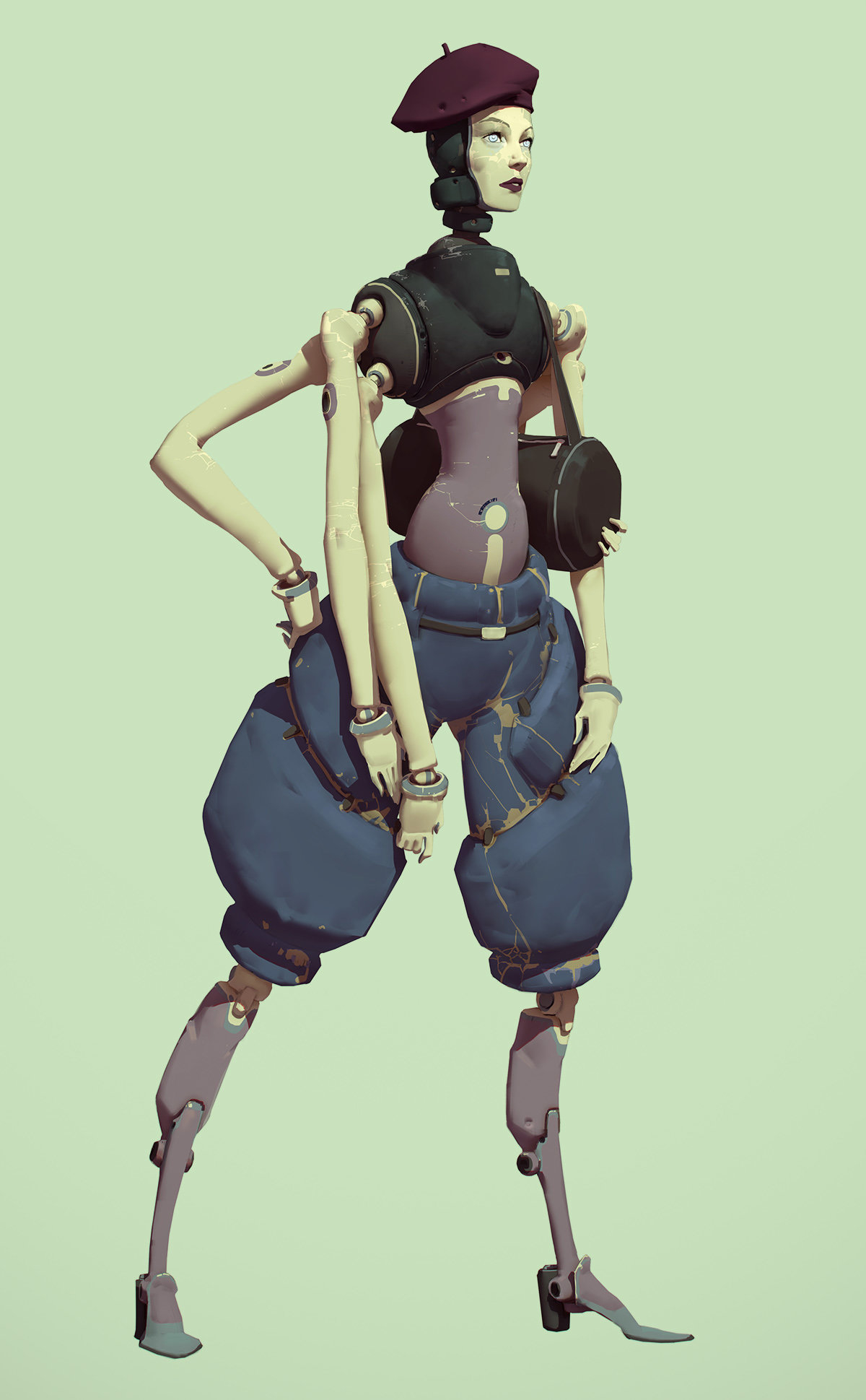 Rahmatozz robotic artist girl 1 8ff55aed 6gak